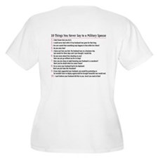 10 Things You Never Say to a T-Shirt