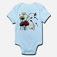 Poppies Body Suit