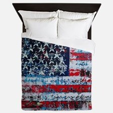 Cool God we trust Queen Duvet