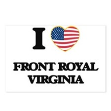 I love Front Royal Virgin Postcards (Package of 8)