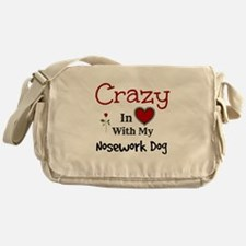 Nosework Dog Messenger Bag