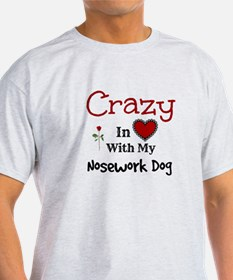 Nosework Dog T-Shirt