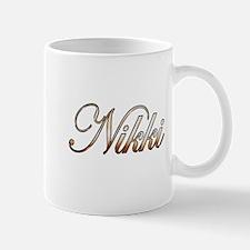Gold Nikki Mugs