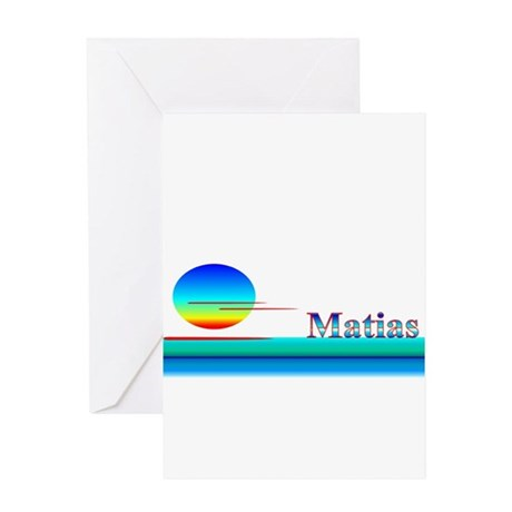 Matias Greeting Card