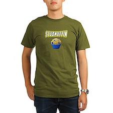 Studmuffin Organic Men's T-Shirt (dark)