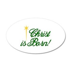 Christ is Born Wall Decal