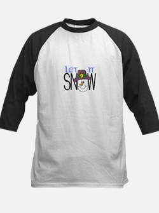 Let It Snow Baseball Jersey