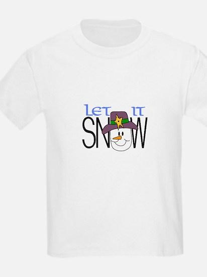 Let It Snow T-Shirt