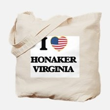 I love Honaker Virginia Tote Bag