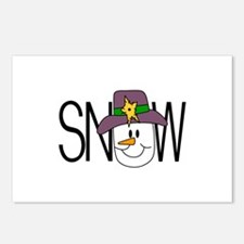 Snow Postcards (Package of 8)