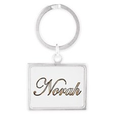 Gold Norah Keychains