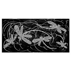 Dragonfly Night Flit Poster