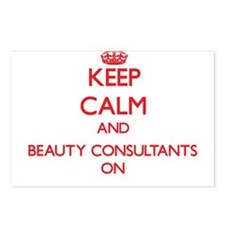 Keep Calm and Beauty Cons Postcards (Package of 8)