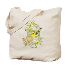 Cute Yellow Tote Bag