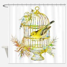 Unique Bird cages Shower Curtain