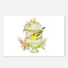 Cool Yellow Postcards (Package of 8)
