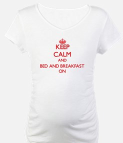 Keep Calm and Bed And Breakfast Shirt