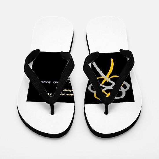 Bilateral Meniere's Disease Awareness Flip Flops