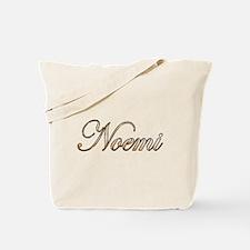 Gold Noemi Tote Bag