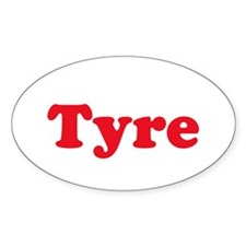 Tyre Oval Decal