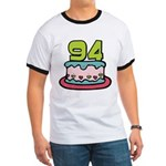 94 Year Old Birthday Cake Ringer T