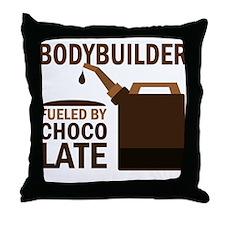Bodybuilder Funny Throw Pillow