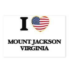I love Mount Jackson Virg Postcards (Package of 8)