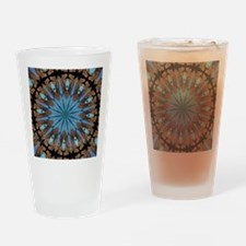 Reiki Mandala Drinking Glass
