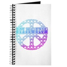 Imagine Peace Signs Journal