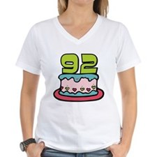 92 Year Old Birthday Cake Shirt