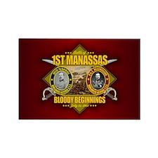 1st Manassas Magnets