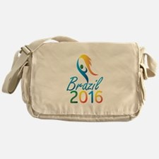 Brasil 2016 Summer Games Flaming Torch Messenger B