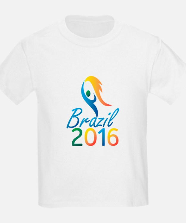 Brasil 2016 Summer Games Flaming Torch T-Shirt