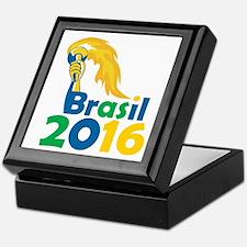 Brasil 2016 Summer Games Athlete Hand Torch Keepsa