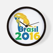 Brasil 2016 Summer Games Athlete Hand Torch Wall C