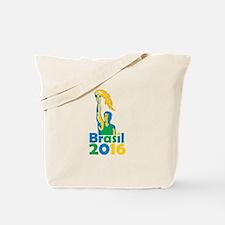 Brasil 2016 Summer Games Athlete Torch Tote Bag