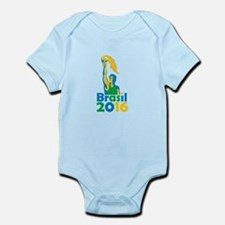 Brasil 2016 Summer Games Athlete Torch Body Suit