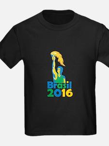 Brasil 2016 Summer Games Athlete Torch T-Shirt