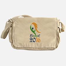 Brasil 2016 Flames Summer Games Messenger Bag