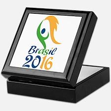 Brasil 2016 Flames Summer Games Keepsake Box