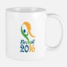 Brasil 2016 Flames Summer Games Mugs