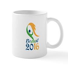 Brasil 2016 Flames Summer Games Mugs