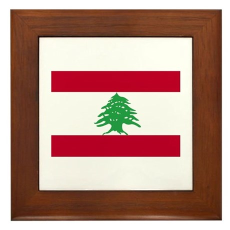 Flag Framed Tile
