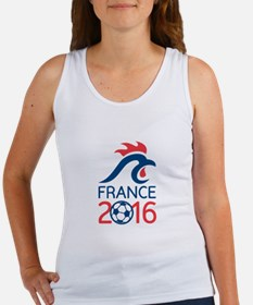 France 2016 Europe Football Championships Tank Top