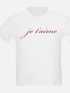 Je T-aime T-Shirt