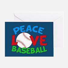 Baseball Love Greeting Card