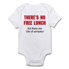 NO FREE LUNCH Infant Bodysuit