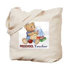 School Days Teddy - Preschool Tote Bag