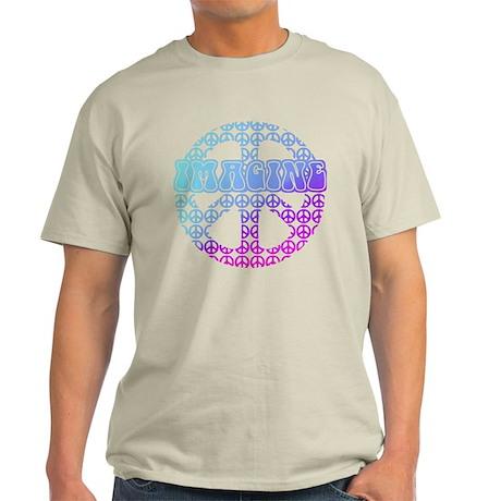 Imagine Peace Signs Light T-Shirt