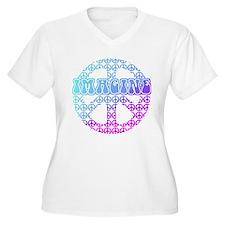 Imagine Peace Signs T-Shirt